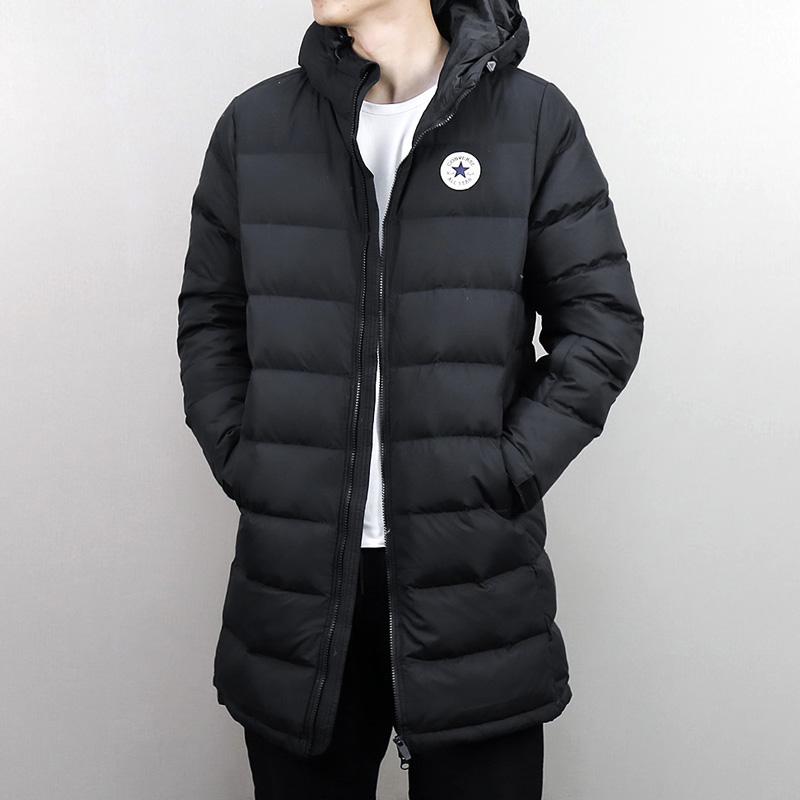 匡威男装2018冬季新款中长款防风保暖运动休闲羽绒服外套10005123