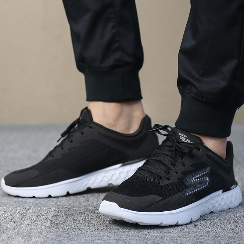 Skechers斯凯奇男鞋2018夏季新款防滑轻便缓震运动鞋跑步鞋54353