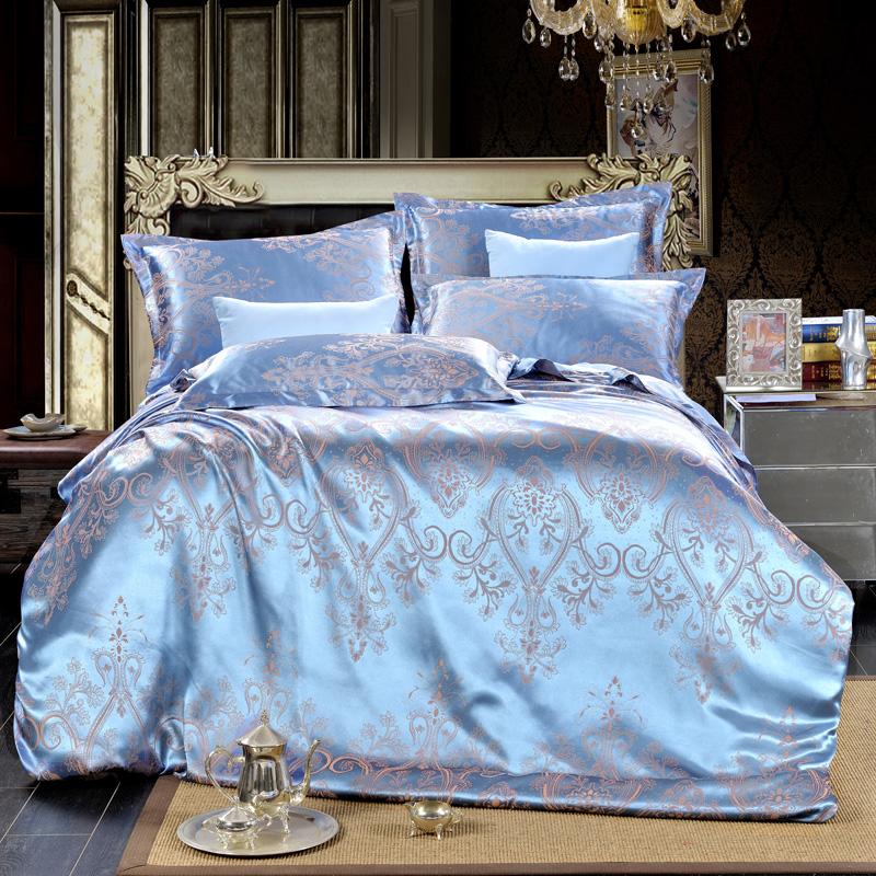 床上贡缎被罩