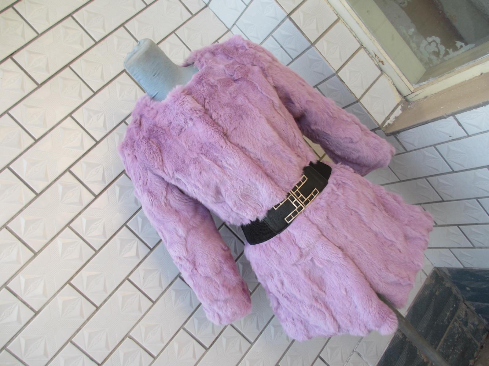 獭兔毛皮外套