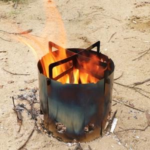 小虫户外柴火炉子便携野外折叠bushcraft装备