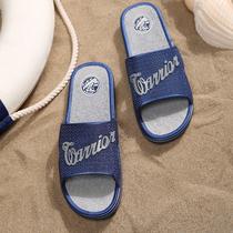 越南男拖鞋夏季男士人字拖防滑凉拖鞋男橡胶韩版外穿潮托鞋沙滩秆