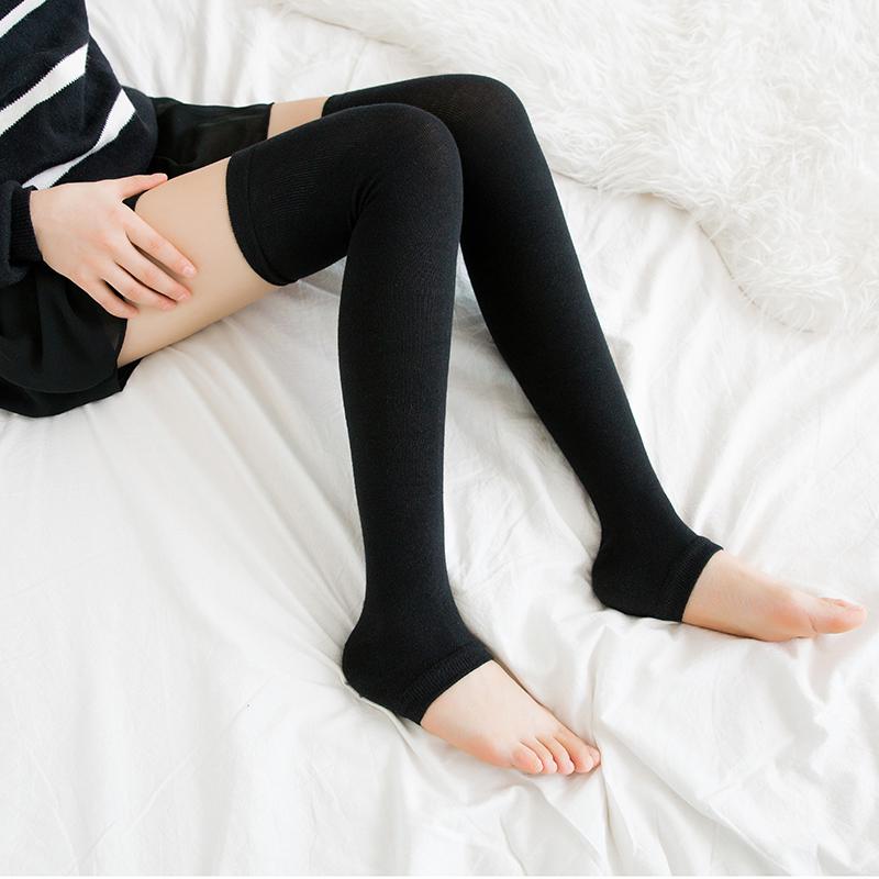 护膝袜纯棉袜