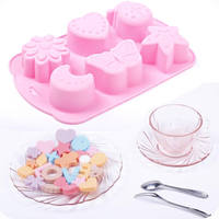 Household personality self-made ice lolly ice cube set creative frozen ice cube mold ice hockey ice cream silicone ice box