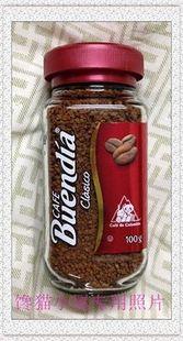 2瓶包邮 100克 哥伦比亚BUENDIA 博恩 冻干速溶咖啡 到期19年11月