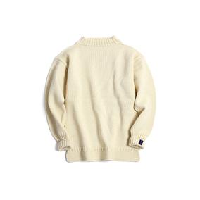 国棉壹厂北欧复古半高领渔夫毛衣 英国工社羊毛 丰满蓬松编织温暖