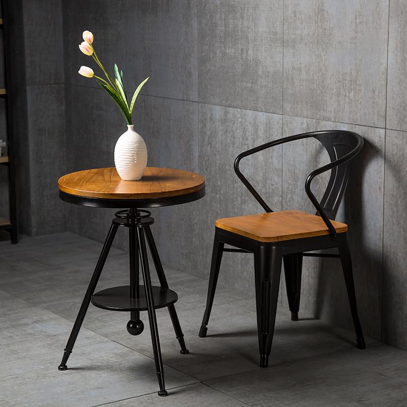 loft工业餐椅