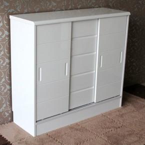 鞋柜推拉门烤漆滑门移门大容量省空间阳台储物柜简约现代门厅柜