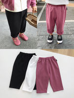 Chenchen Ma children's clothing girls pants spring and autumn 1-3-5 years old children female baby loose grandmother pants casual trousers