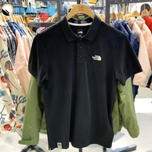 Spring and Summer 2019 New North Face Men's Air-breathable POLO Short-sleeved T-shirt NF0A3VRA3VRA