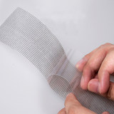 Long strip screen screen door repair patch gauze hole repair patch anti-mosquito patch hole paste with adhesive tape