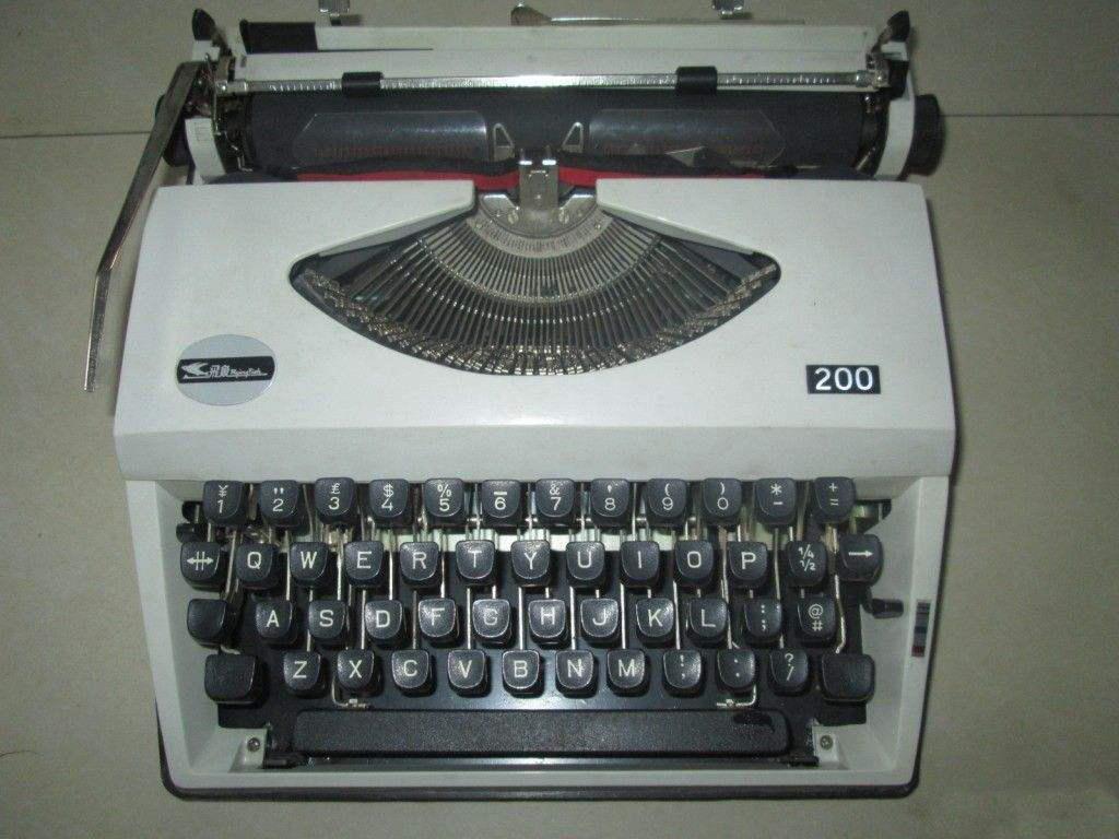 老式打字机