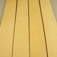 意大利植鞣革皮带条美洲鞍革头层牛皮无扣手工腰带半成品 3.8 促销