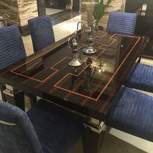 圣奇尼 意大利后现代奢华家具餐厅成套家具餐桌椅餐边柜酒柜定制