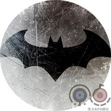 马口铁徽章 蝙蝠侠 58mm 特色底纹