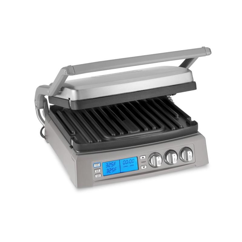 Cuisinart/美膳雅牛扒机烧烤机三明治机家用智能无烟烧烤机电烤盘
