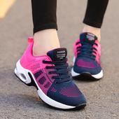 夏季安踏女鞋2018新款气垫运动鞋学生休闲跑步鞋网面透气轻便百搭