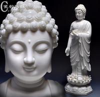 阿弥陀佛佛像白瓷