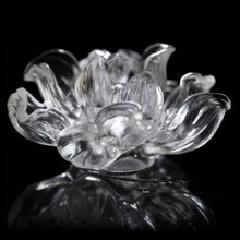 Yunxiang Creative and Smart Glass Crystal Lotus for Huachadao Xiangdao Home Jewelry Car Decoration Gift