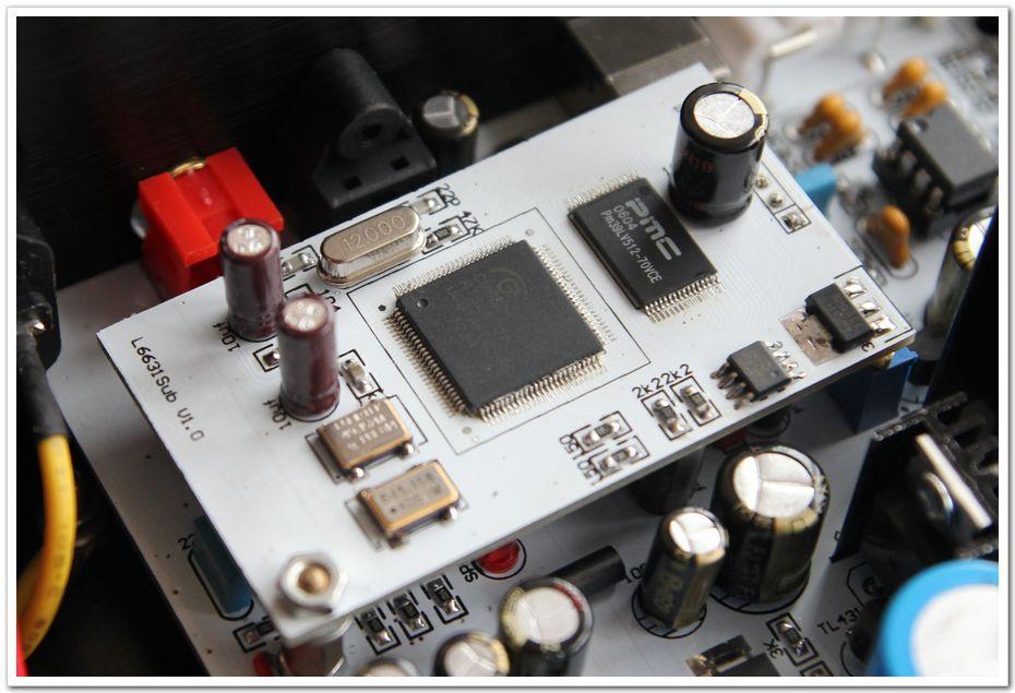 配合L4399DAC解码使用的CM6631 24bit 192k USB异步子卡
