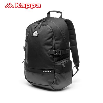 Kappa/背靠背卡帕新款男士双肩包大容量旅行包夹层电脑包学生书包
