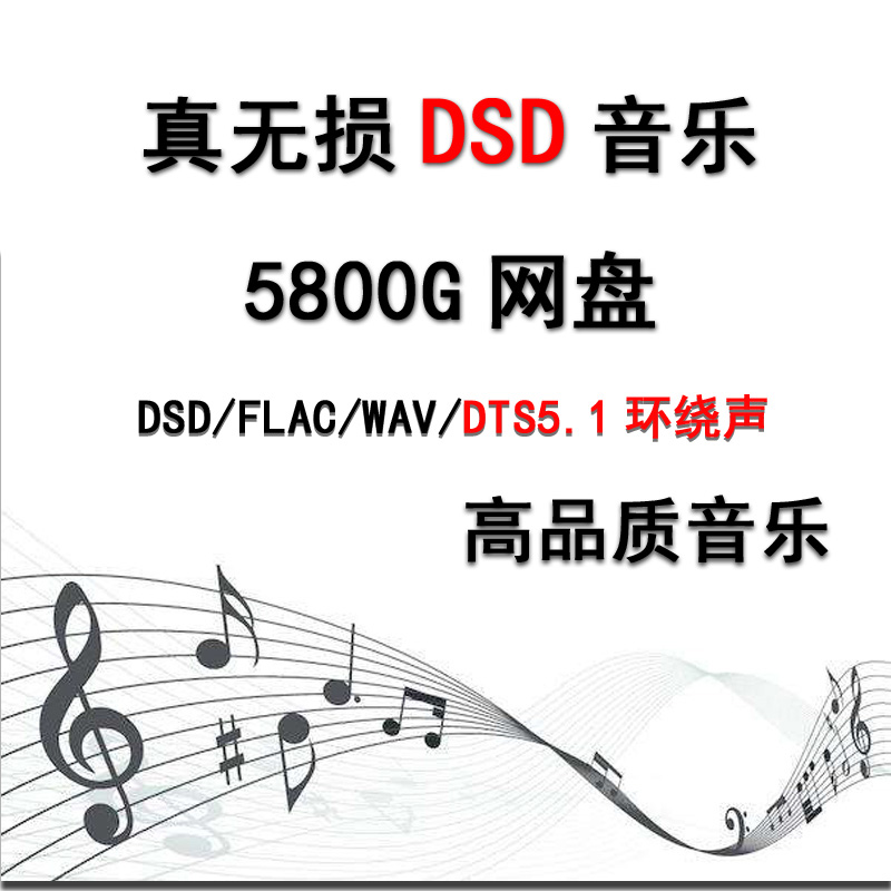lossless Music download package DSD/wav surround 5.1 car M