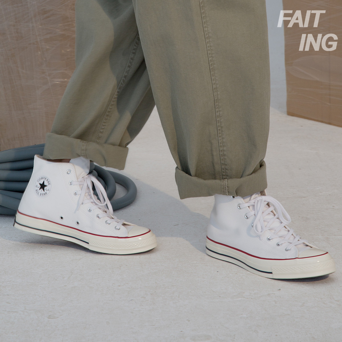 Converse匡威1970s白高帮白色低三星标男女帆布鞋162056c 162065C