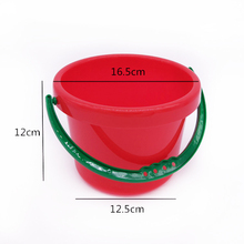 Children's Beach Toys Baby Big Play Sand Tool Bucket Bath Play Water Toys Fishing Play Sand Plastic Bucket