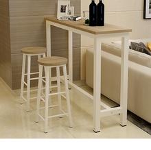 简约吧台桌家用 靠墙小吧台客厅隔断玄关桌窄桌子 长条 高脚桌椅