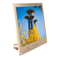 Newman digital photo frame electronic photo album HD 8 inch thin card company gift custom logo with remote control