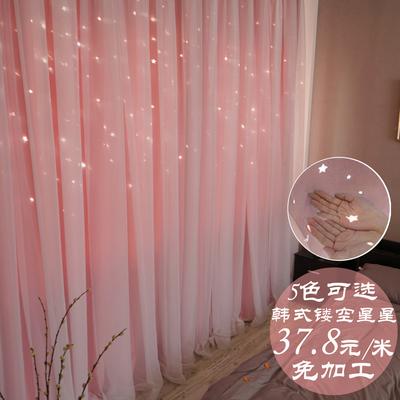 公主窗帘 卧室 蕾丝