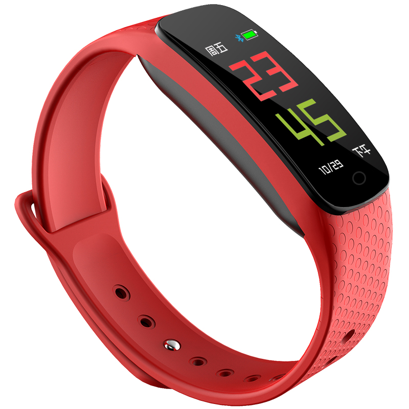 大显DX700彩屏智能运动手环 测心率血压计步睡眠监测防水男女  多功能计步器手表 礼物 礼品