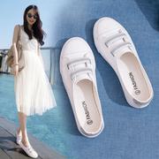 2018夏季新款浅口小白鞋女鞋百搭基础韩版板鞋透气平底镂空白鞋子