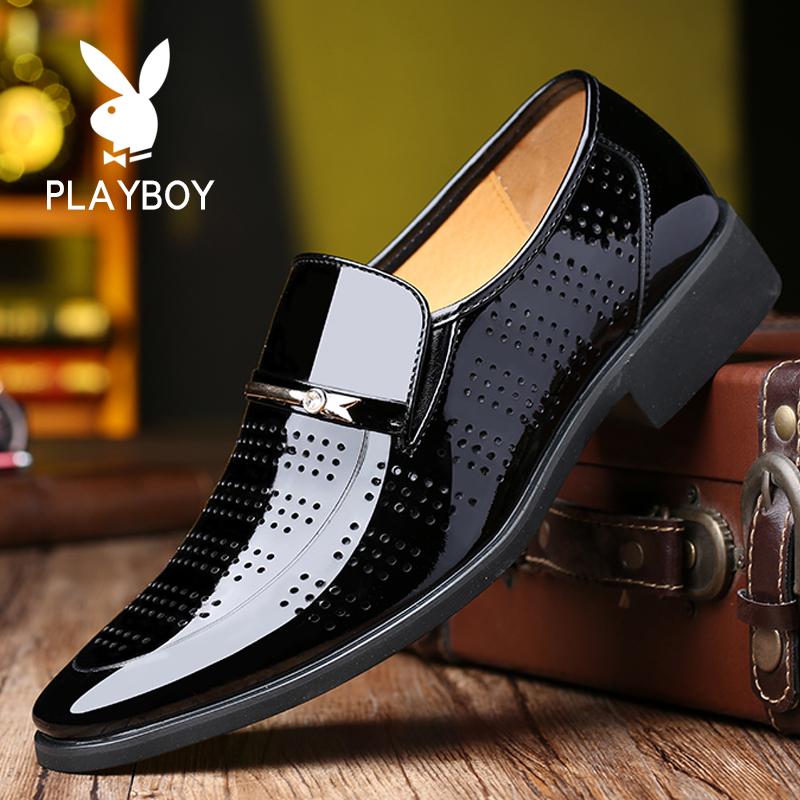 平跟正装凉皮鞋