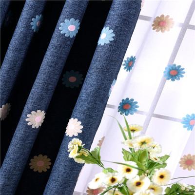 棉麻窗帘布加厚遮光新品特惠