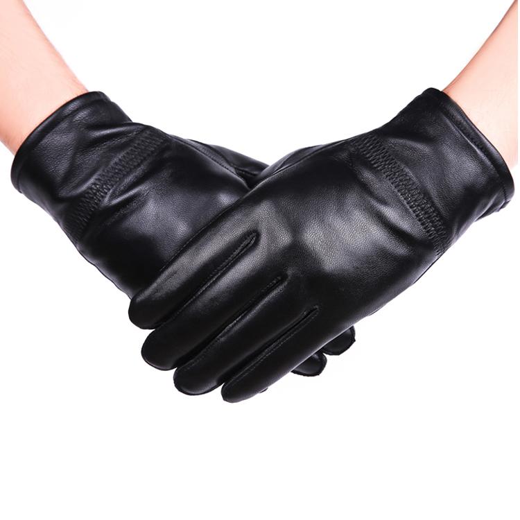 Мужские перчатки из овчины Артикул 581483000758