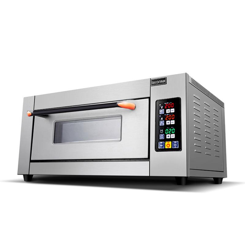 lecon/乐创 大型烤箱商用一层一盘 单层大容量面包披萨烘培电烤炉