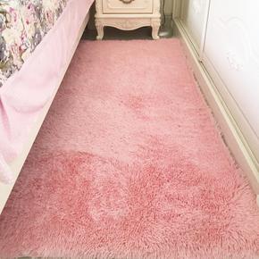 简约现代丝毛地毯客厅茶几飘窗卧室榻榻米床头床边地垫房间满铺毯