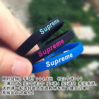 New original tide brand silicone couple sports bracelets Europe and the United States personality wild finger cat men and women silicone wristband