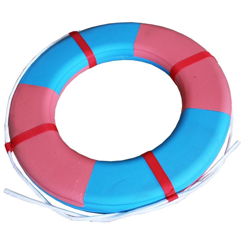 成人儿童加大游泳圈EVA泡沫救生圈 高浮力耐用款救生圈游泳圈包邮1元优惠券