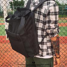 MAYMO原创设计可扩大多功能双肩包男商务休闲包防水旅行包电脑包