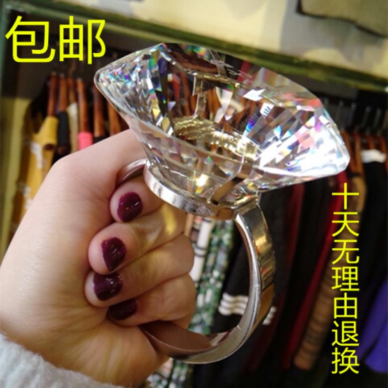 超大钻石戒指道具