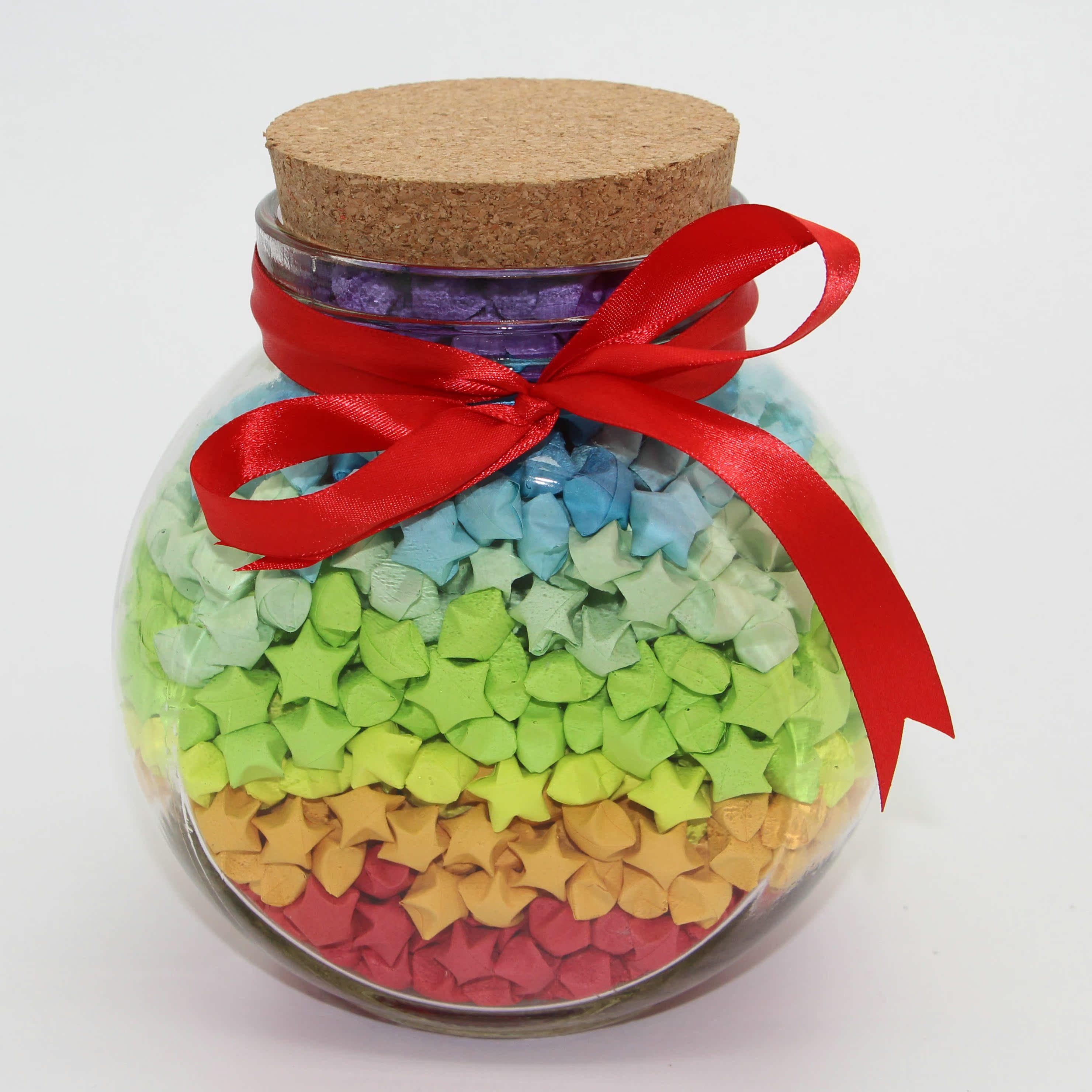 特大花鼓瓶可放3344颗许愿星超大千纸鹤瓶星星瓶漂流瓶许愿瓶包邮