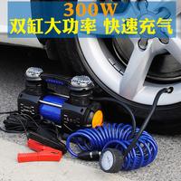 车载充气泵双缸汽车用轮胎打气泵高压大功率越野多功能便携式12V