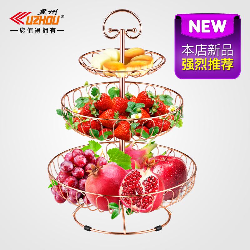 创意多层糖果水果盘1元优惠券