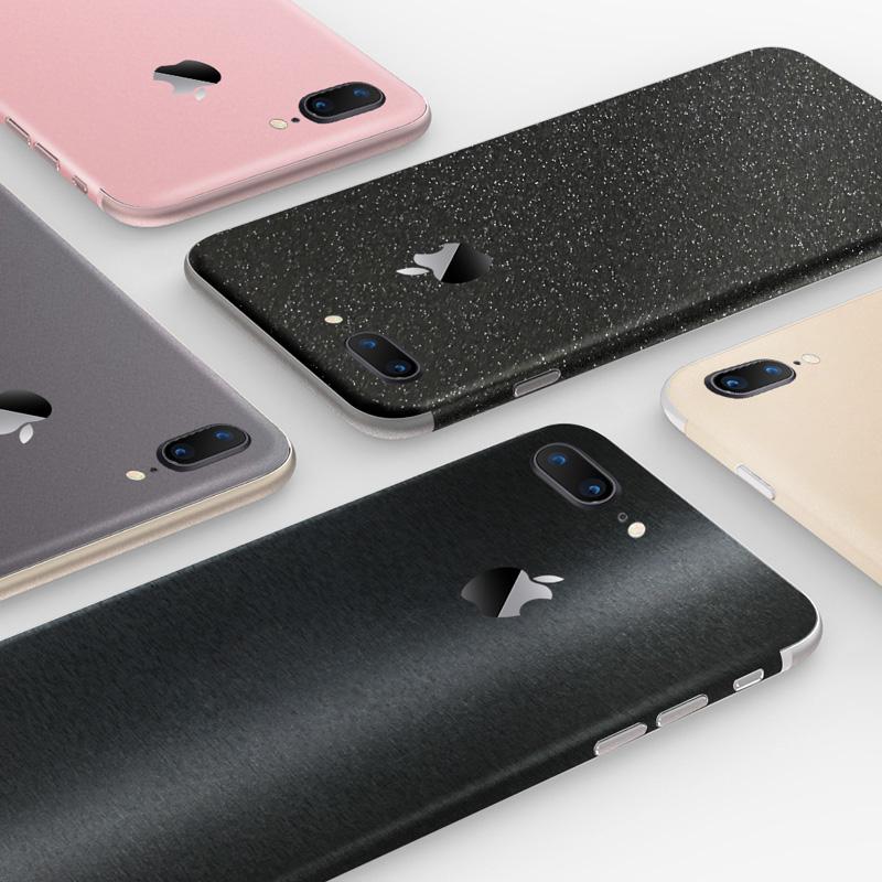 苹果iphonex手机xr贴膜6/6splus背膜xs贴纸7p背贴iPhone7Plus背面max改色8后膜8plus全身贴纯色后盖保护膜