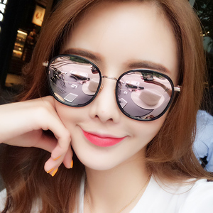 87bba938d1 New Korean version of the frog mirror female tide big box polarized ...