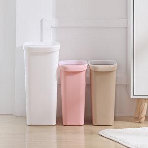 稻草屋大号无盖垃圾桶卫生间卧室杂物桶客厅厨房家用垃圾筒长方形