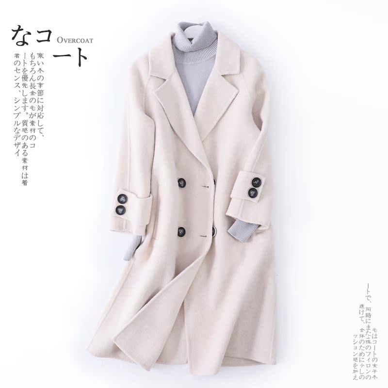 反季促销羊绒大衣