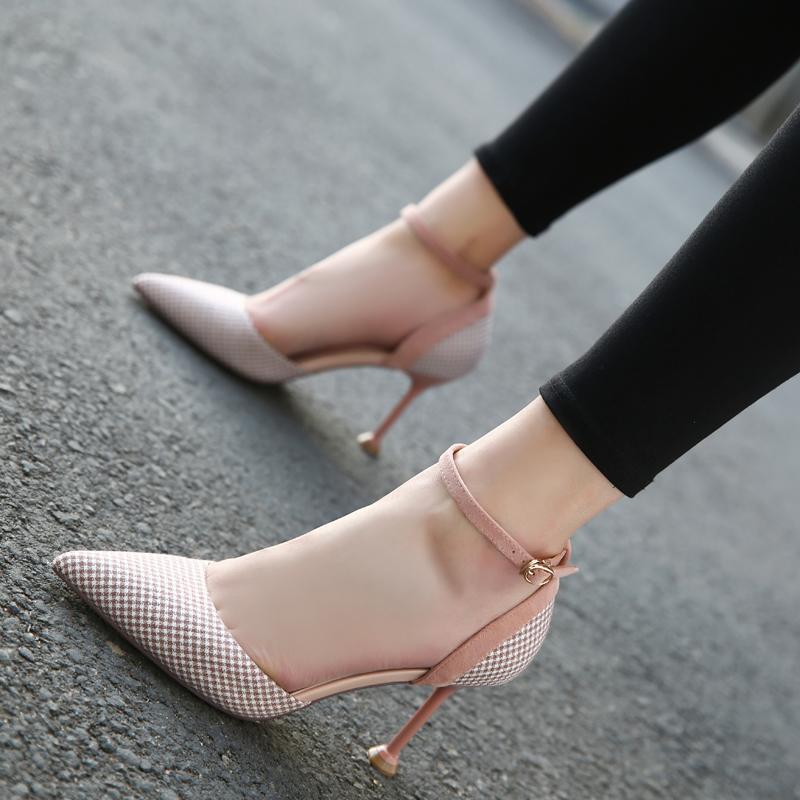 高跟单鞋欧美范